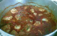 Peixe estufado - Caldeirada