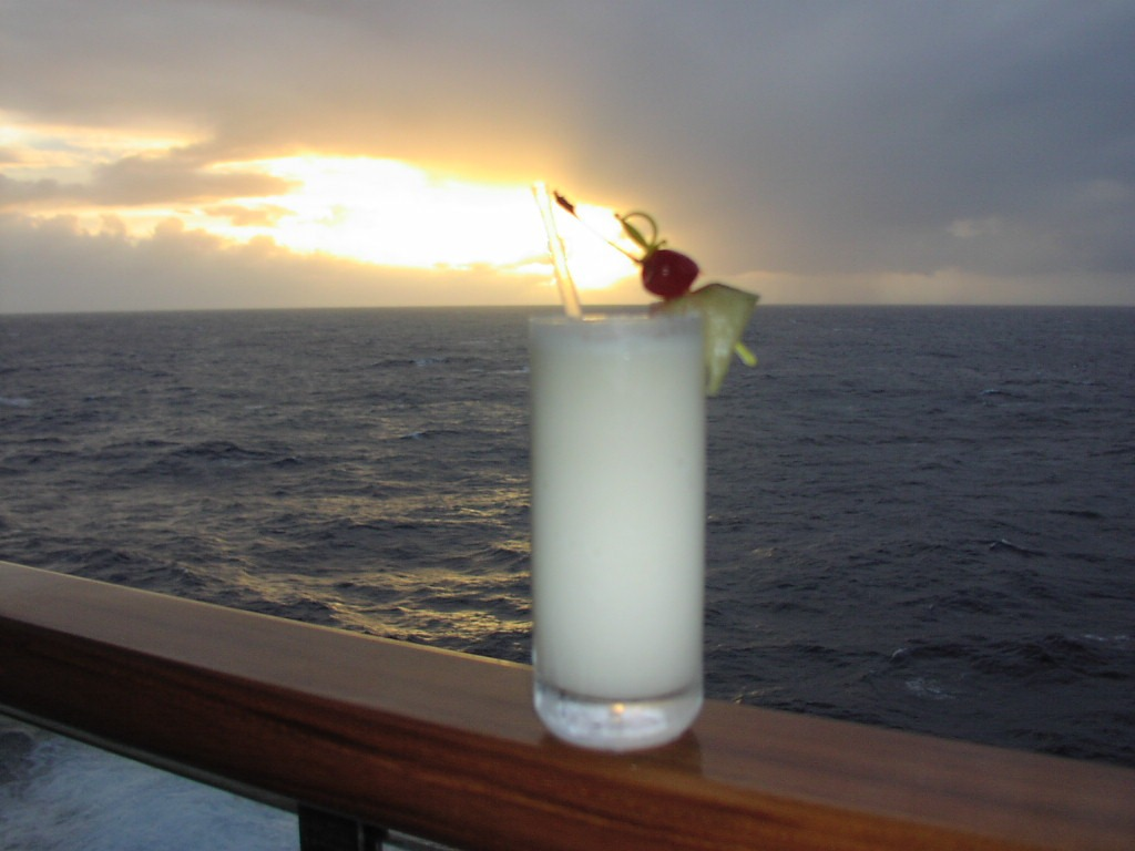 Cocktail de Leite de Coco