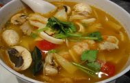 Sopa de Bambu e Cogumelos