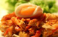 Ovos com Caranguejo