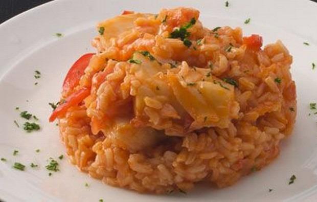 Arroz de Bacalhau com Tomate