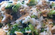 Arroz com Brócolis e Bacalhau