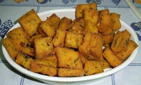 Milho Frito (Receita Tradicional da Madeira)