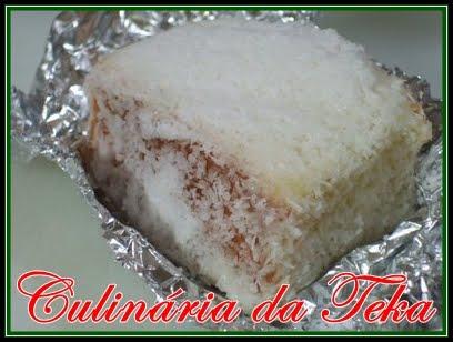 BOLO GELADO DE CÔCO