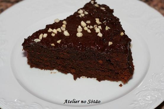 Bolo de Chocolate de Micro-Ondas