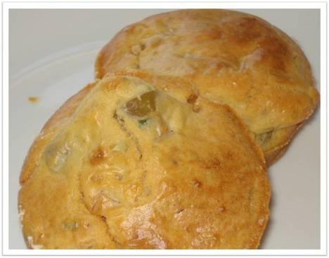 Muffins de Fiambre e Azeitonas