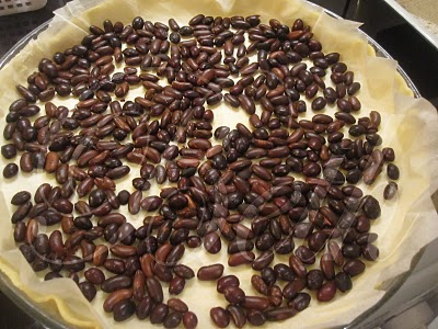 Tarte de Chocolate com Framboesas e Natas