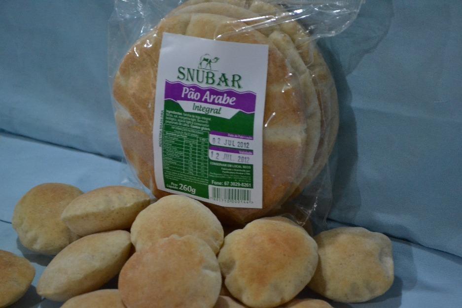 Pão Pita (Pão Árabe ou Pão Sírio)