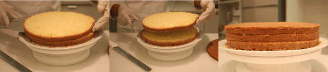 Como cortar bolos para rechear
