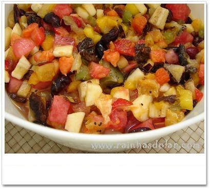 Salada de frutos frescos