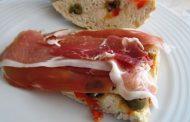 Pão de Azeitonas, Presunto e Queijo