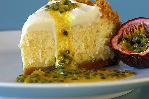 Cheesecake de Limão e Maracujá