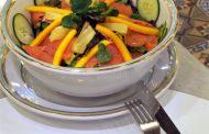 Salada Tropical com Molho de Lima