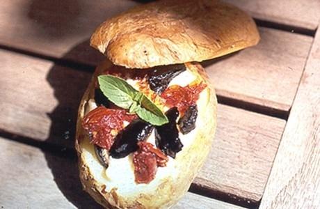 Batatas Recheadas à Italiana