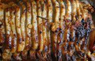 Lombo de Porco com Úisque e Laranja