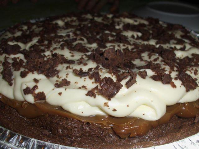 Marquise de Chocolate Coberta de Chantilly