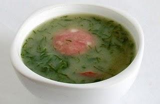 Sopa fria de alfafa