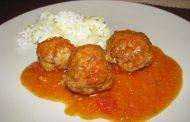 Almôndegas au Tomate
