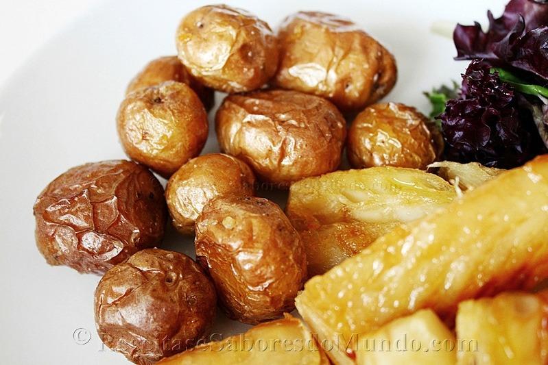 Bacalhau Grelhado com Batatas ao Murro