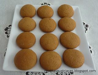 Biscoitinhos de Mel