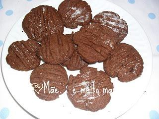 Bolachinhas Fáceis de Chocolate