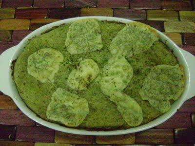 Torta Cremosa de Espinafre à moda Li