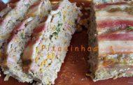 Bolo de Carne com Bacon (Microondas)