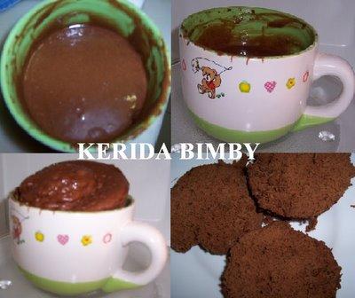 Bolo de chocolate da caneca ( 5 minutos )