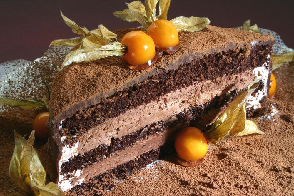 Bolo Mousse de Chocolate III