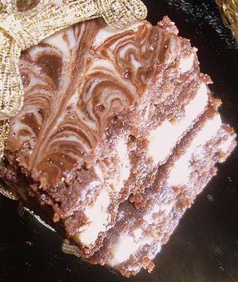 Brownies Marmoreados de Ricota