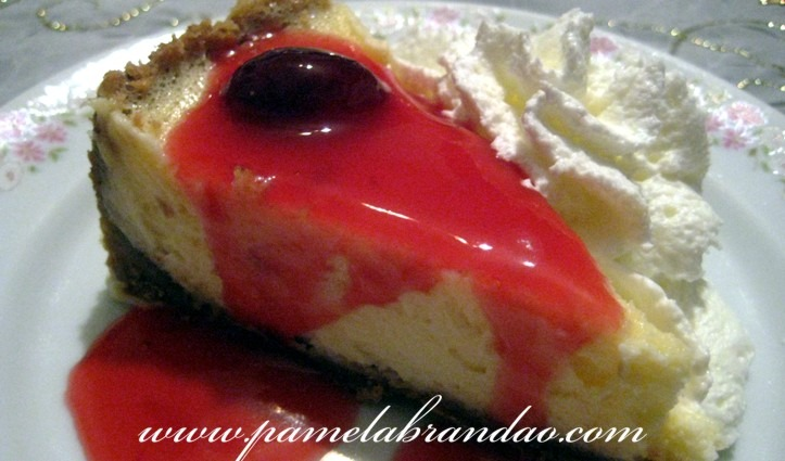 Cheesecake de Cereja Preta