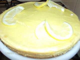 Chesscake de Limão