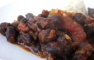 Chili com feijão preto