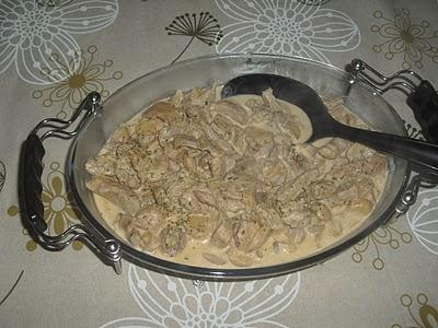 Bifinhos com Cogumelos