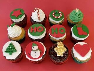 Como fazer um cupcake especial de Natal