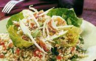 Salada de Carangueijo, Camarão e Abacate