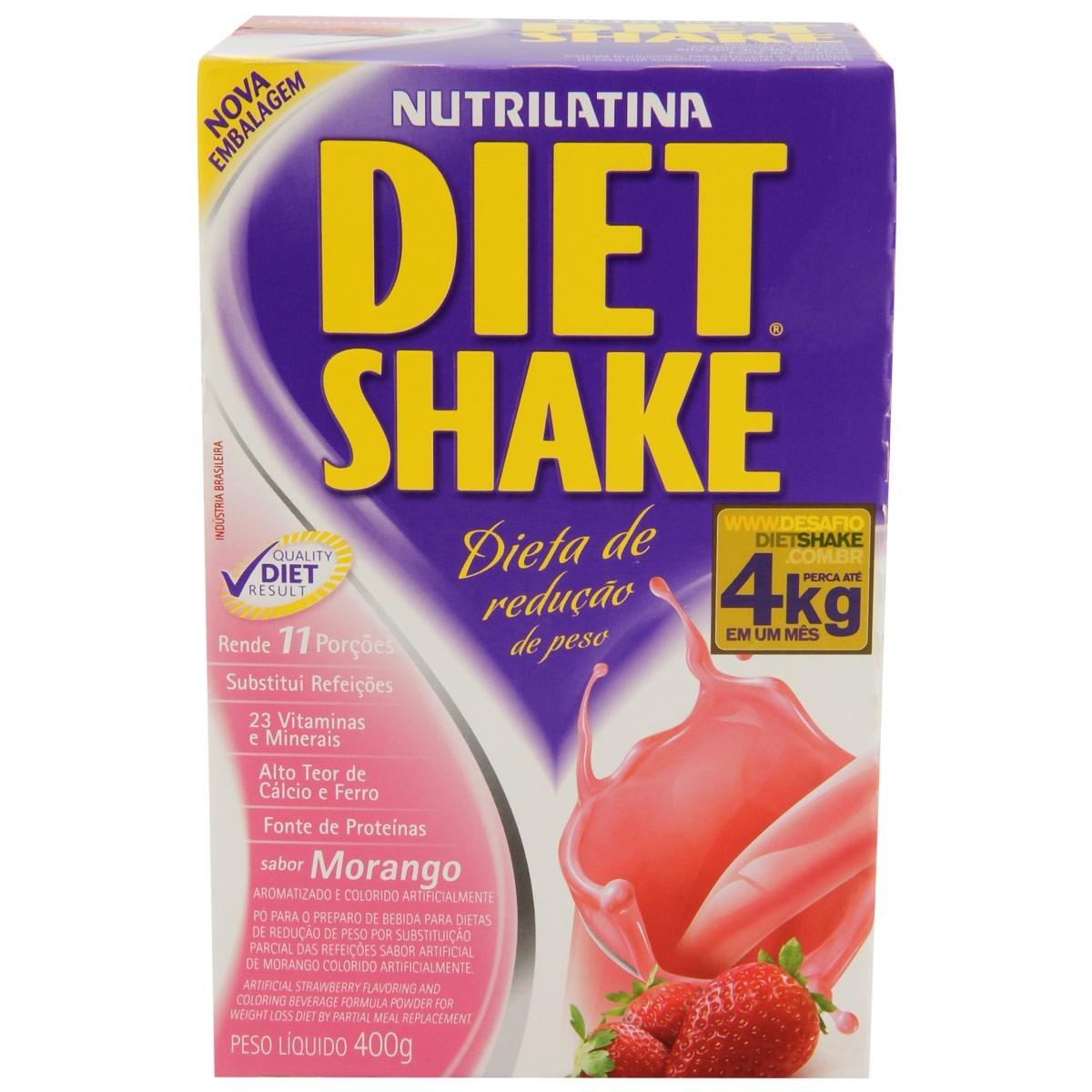 Diet Shake de Morango