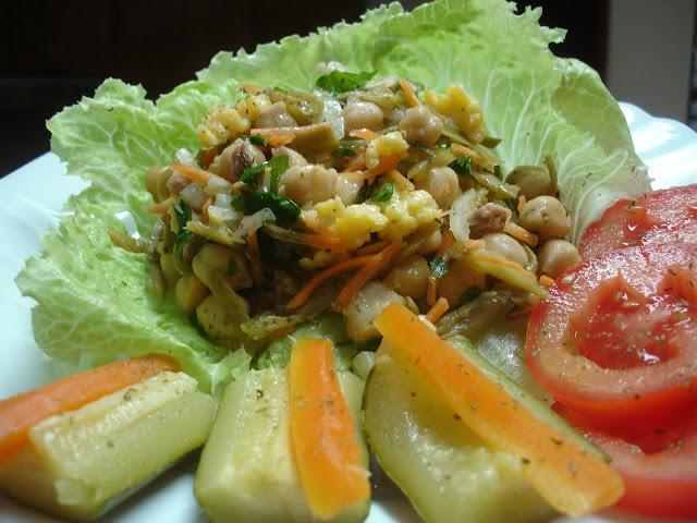 Rolos de Salada de Ovo e Atum