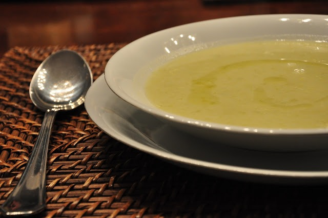 Sopa de alho-porro