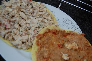Tortilha de Carne e Especiarias