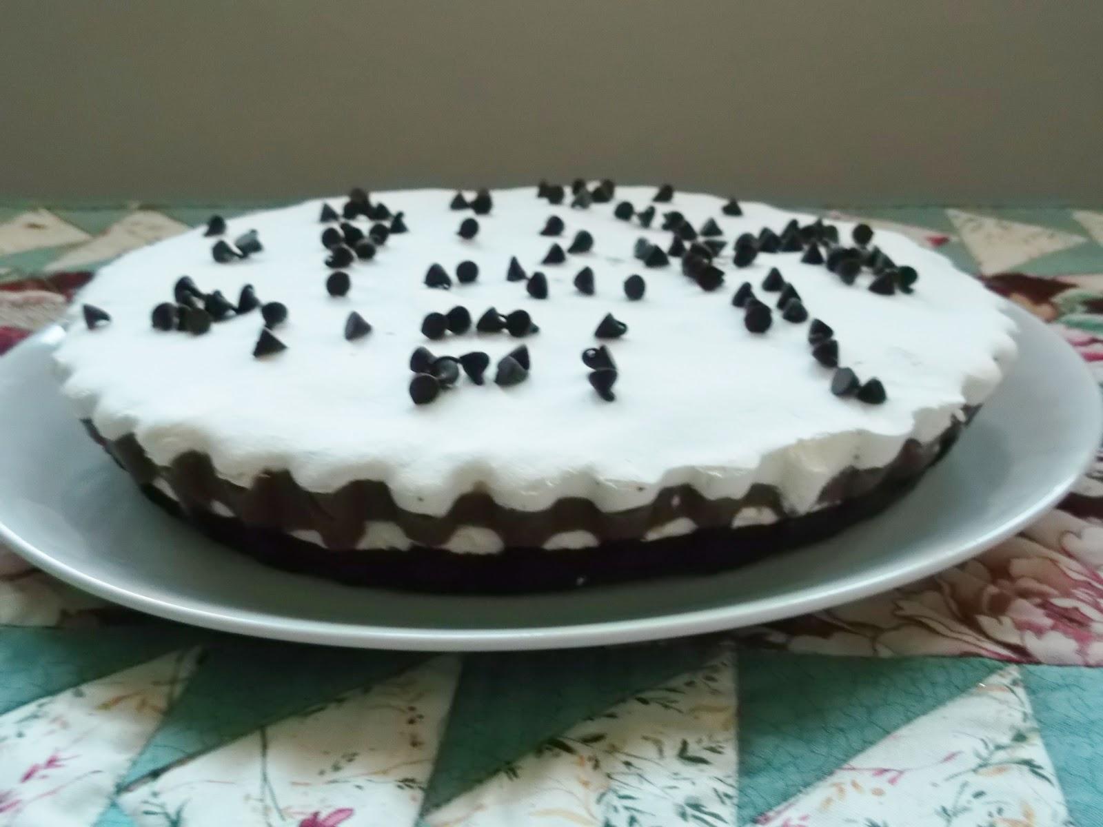 Tarte de Queijo Mascarpone  com Chocolate e Natas