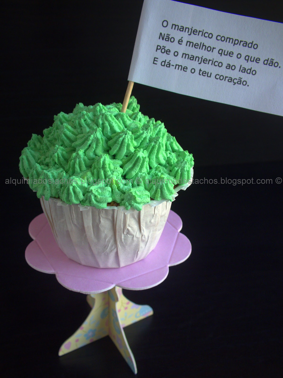 Cupcakes Manjerico de São João