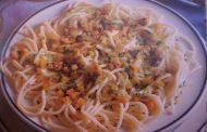 Esparguete com Nozes