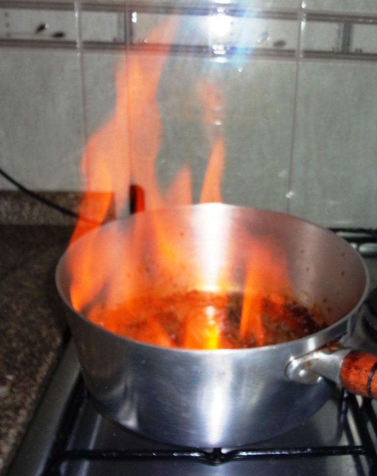 Como Flambar