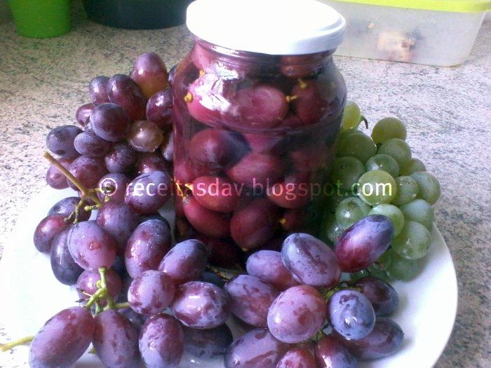 Uvas em Calda
