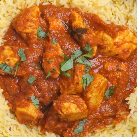 Frango ao curry indiano
