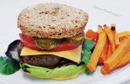 Hambúrguer em Pão