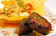 Filet Mignon Grelhado com Espetada de Legumes