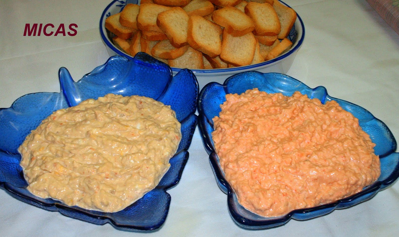 Patê de Atum e Delicias do Mar