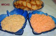 Patê de delicias do Mar e Atum